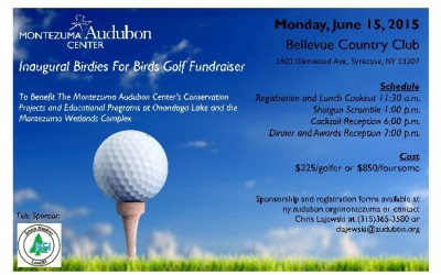 Montezuma Audubon Center Golf Fundraiser
