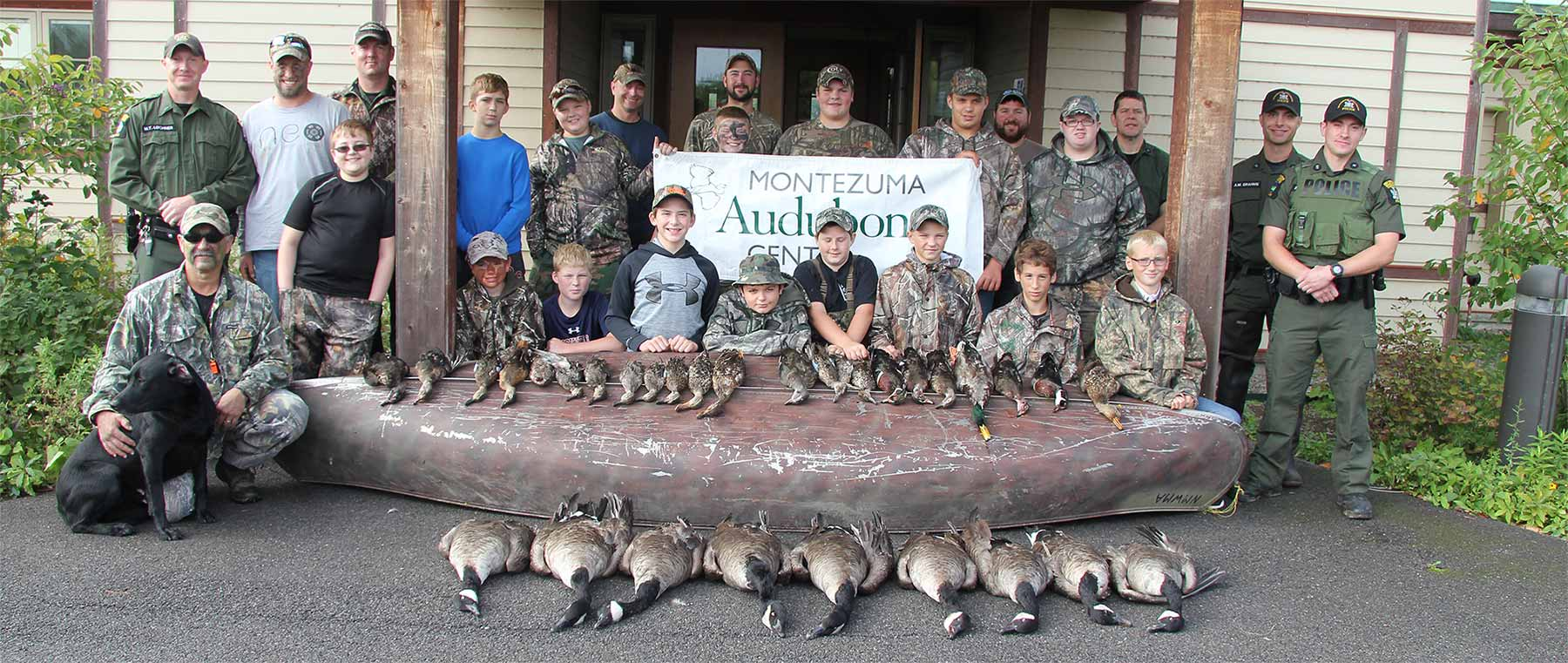 Ninth Annual Robert DeRoo Memorial Conservation Dinner and Youth Hunt